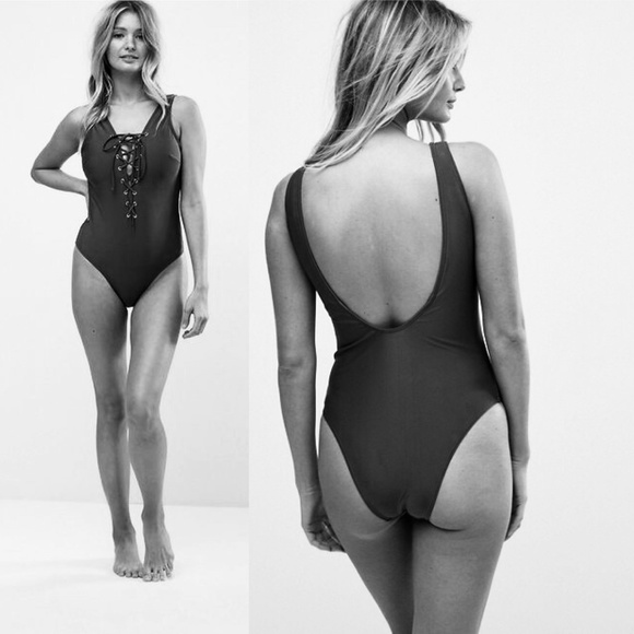 63805564fe0 ASOS Swim | Wolf Whistle Lattice Suit Dd G Cup Black | Poshmark